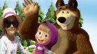 MAŞA ve KOCAAYI filmine gittik, eğlenceli çocuk videosu