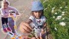 Parkta Enteresan Kaykay İle Yarışmalar, Eğlenceli Çocuk Videosu