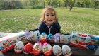 Parkta Sürpriz Bulmaca Kinder Joy Kinder Şirinler Ülker Smart Ozmo Miniş