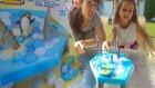 Penguen oyunu buzları düşür pengueni koru, eğlenceli çocuk videosu