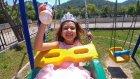 Prenses Sofia Parkta dondurma yiyor , oynuyor, eğlenceli çocuk videosu