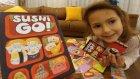 SUSHİ GO oyuncak kutusu açtık, eğlenceli çocuk videosu