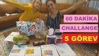 60 DAKİKA CHALLANGE 5 görev büyük sürpriz, eğlenceli çocuk videosu