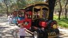 Antalya Park Orman Macera parkı Enteresan bisiklet ve Ormanda TREN gezintisi