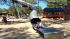 Antalya Park Orman Macera parkı zıpzıpta eğlence, şirine kum boyama ve oyun alanı, çocuk videosu
