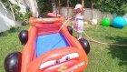 Bahçeye havuz açmaya karar verdik zor oldu , eğlenceli çocuk videosu