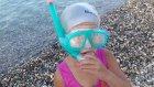 Elif yeni winx mayo ile plajda sualtı görüntüler, eğlenceli çocuk videosu