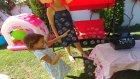 Elife Büyük Baloncuk makinası, Kar makinası istedik baloncuk oldu ::) eğlenceli çocuk videosu