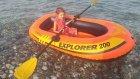 Elife yeni bot denizde sırılsıklam olduk, eğlenceli çocuk videosu