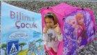 Plajda Elsa çadır içinde Bilim çocuk dergisi açtık, Biz çok beğendik , eğlenceli çocuk videosu