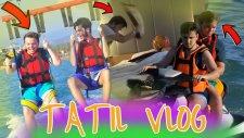 Batu'ya Kışkırtma Ve Paraşütten Düşüyorduk ! - (Tatil Vlog)
