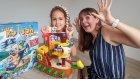 Çılgın Korsan Gemisi biz oynamayı beceremedik, eğlenceli çocuk videosu, toys unboxing