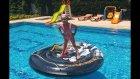 DEV SU OYUNCAĞI KORSAN ADASI, bu oyuncak havuzumuza büyük geldi, eğlenceli çocuk videosu
