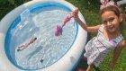 Eski havuzumuzu açtık bu havuz ilk havuzumuz, eğlenceli çocuk videosu