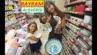 Migrosta Bayram alışverişi yaptık, eğlenceli çocuk videosu
