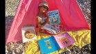 Plajda çadırda MAVİ KIRLANGIÇ dergisi açtık .Biz çok beğendik bu dergiyi Abone oluyoruz