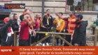 Östersund'da Galatasaray coşkusu! Başkan Dursun Özbek şehri gezdi