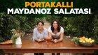 Portakallı Maydanoz Salatası (Tüm Aile İçin) | İki Anne Bir Mutfak