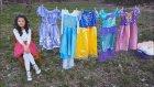 Zeynep Tv kanal tanıtımı Disney Prenses Kostümleri