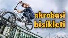 Bisikletle Artistik Hareketler Nasıl Yapılır? - Akrobasi Bisikletine Binme Dersi Aldık