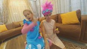 Elif Popy Oldu Markete Gitti - Prenses Elif