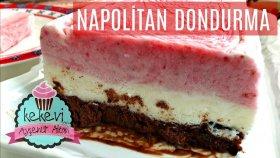 Napolitan Dondurma (Çilek, Çikolata ve Vanilyalı) Nasıl Yapılır? / Ayşenur Altan Yemek Tarifleri