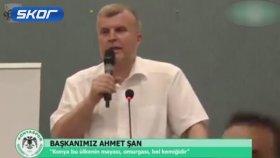 Ahmet Şan: İzmir Marşı Söylemediğiniz İçin Teşekkür Ederim