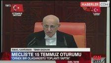 CHP'lilerden Meclis Başkanı'na
