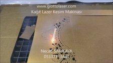 galvo lazer kağıt kesim makinası davetiye kutu