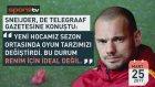 İki dakikada Sneijder krizi!