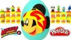 Mickey ve Çılgın Yarışçılar Sürpriz Yumurta Oyun Hamuru - Miki Oyuncakları Hatchimals