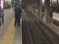 İstanbul Metrosunu Sel Basması