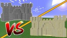 Kum Kale vs Taş Kale (Minecraft)