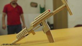 Kartondan Hafif Makineli Tüfek Yapmak