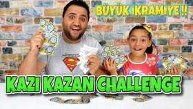 Kazı Kazan Challenge Büyük İkramiye Kime Çıktı ?