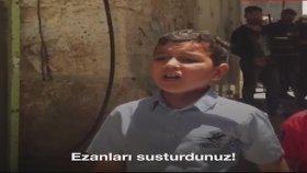 Kudüslü Çocuğun Yahudilere Haykırması