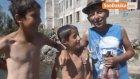 Malazgirtli Çocuklar, Süphan Dağı'ndan Gelen Suyla Serinliyor