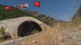 Trabzonlu TIR Şoförünün Kato Dağı'na Bayrak Asması