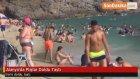 Alanya'da Plajlar Doldu Taştı