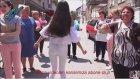 Beyaz Dar Kotu ile Roman Havası Oynayan Esmer Güzeli