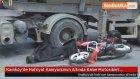 Hafriyat Kamyonunun Altında Kalan Motosiklet Sürücüsü Hayatını Kaybetti