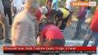 Otomobil Kum Yüklü Traktöre Çarptı: 1'i Ağır, 4 Yaralı