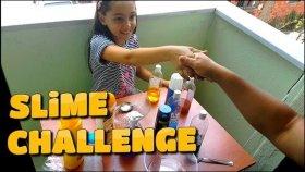 Teyzemin Balkonunda Annemle Kıyasıya Slime Challenge