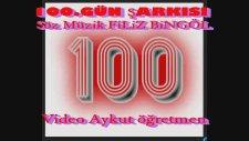 100.gün Çocuk şarkısı Anaokulu Okul Öncesi Şarkısı Söz Müzik Filiz Bingöl Video Aykut Öğretmen