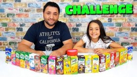 Sonuna Kadar İçme Cezalı Meyve Suyu Challenge !!