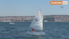 Uluslararası Yelken Yarışları Tekirdağ'da Başladı