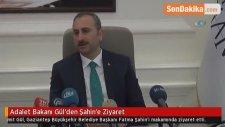 Adalet Bakanı Gül'den Şahin'e Ziyaret