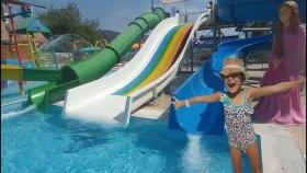 Antalya Kemer dolusupark aqua parkta eğlence zamanı,çılgın kaydıraklar, bol atraksiyonlu bir gün