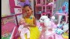 Elifin videosu,Lala bebek ile oyunlar, yemek hazırlama, gece için makyaj yapma