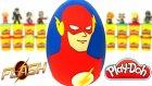Flash Sürpriz Yumurta Oyun Hamuru -   Flash Oyuncakları Joker  Çöps Çetesi